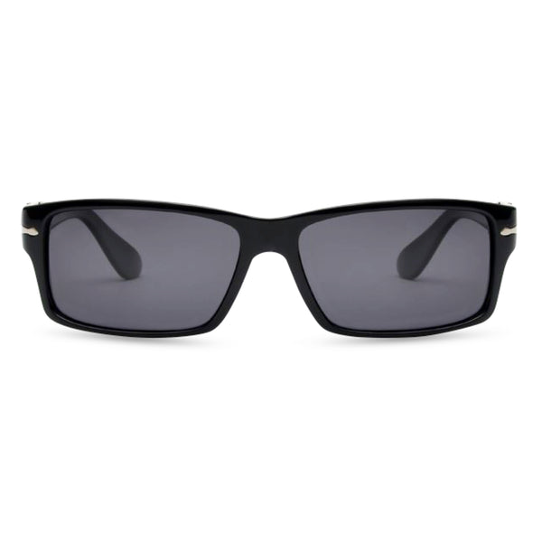 James B - Sunglasses Matt Black / Grey Lens