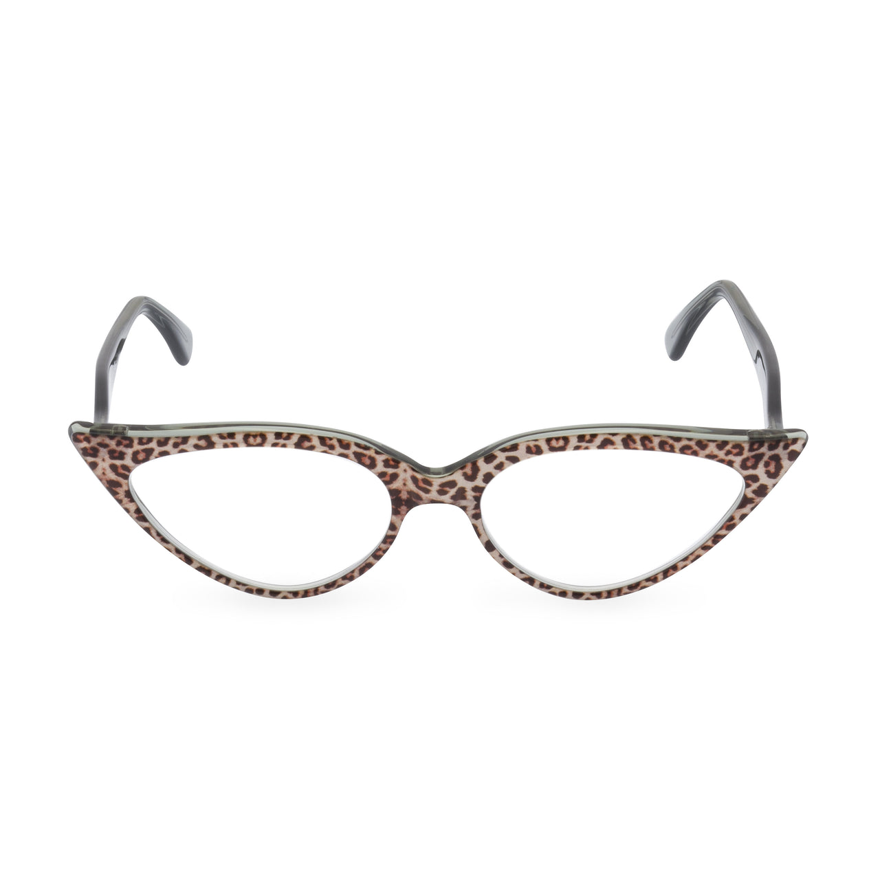 Retropeepers Jeanne Jaguar, 50's style cat eye glasses, front view