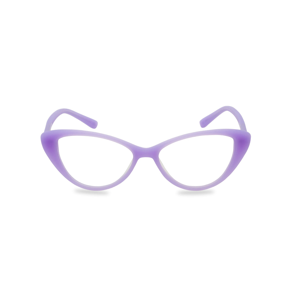 Jessica Cat Eye Glasses - Lilac