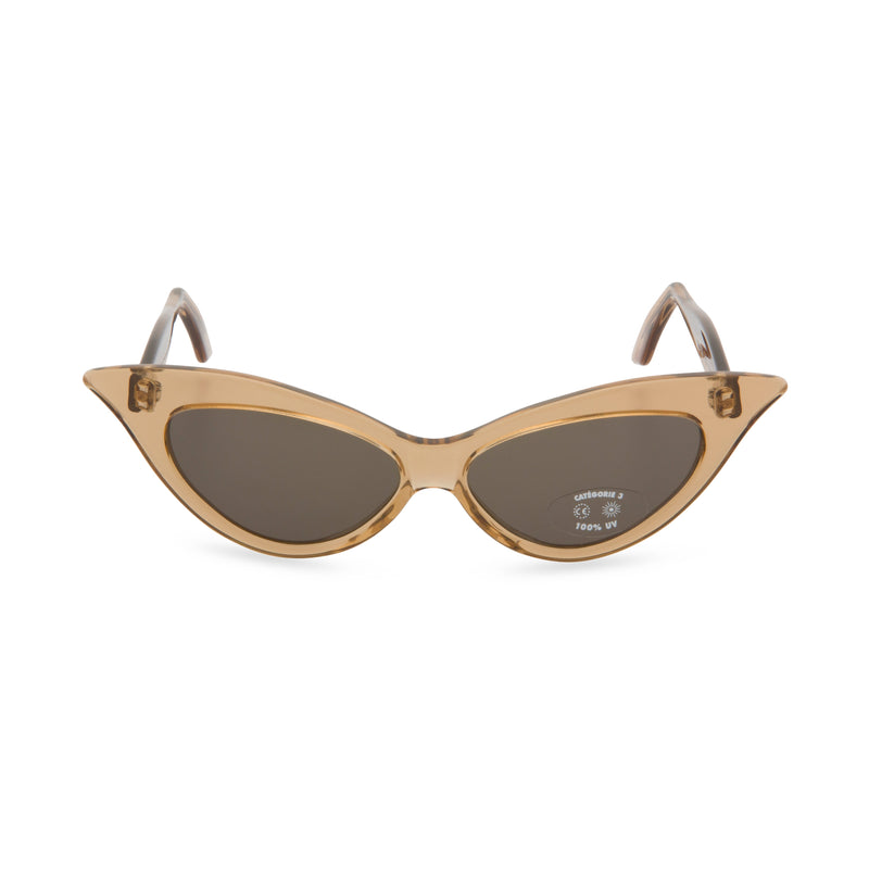 Juliette Cat Eye Sunglasses - Crystal Gold