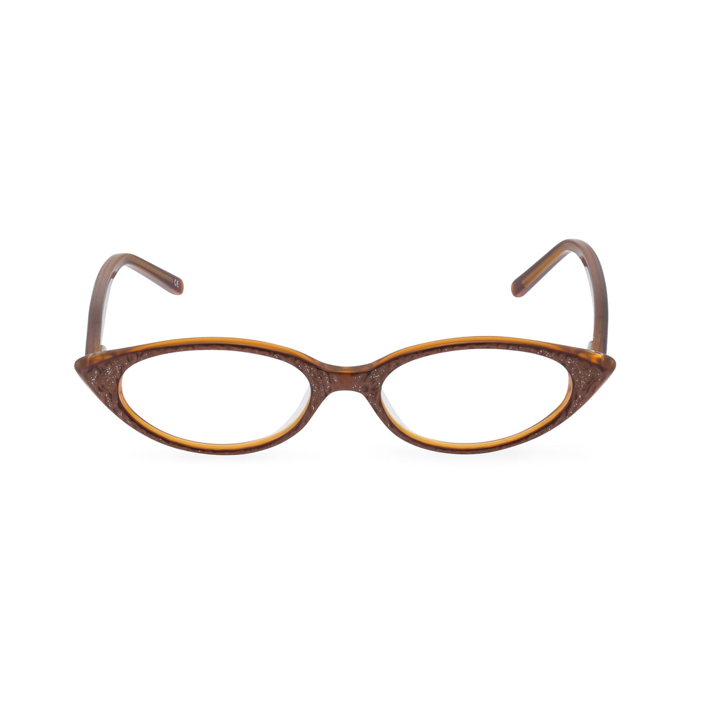Katy Cat Eye Glasses - Bronze
