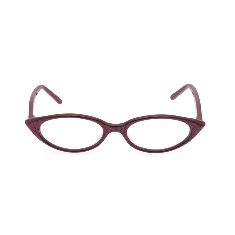 Katy Cat Eye Glasses - Vamp Red