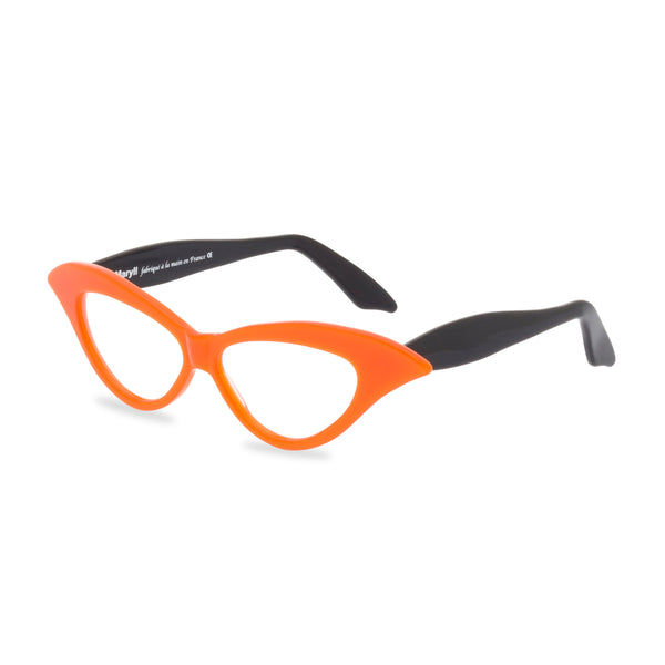Lady M tangerine / black side