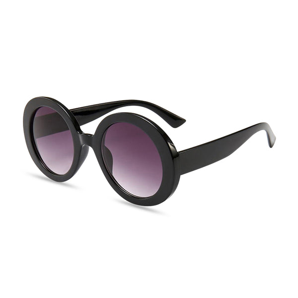 Lauren Oval Sunglasses - Black