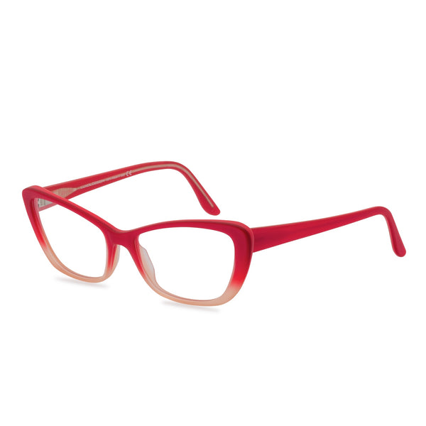 Loren pink glasses side