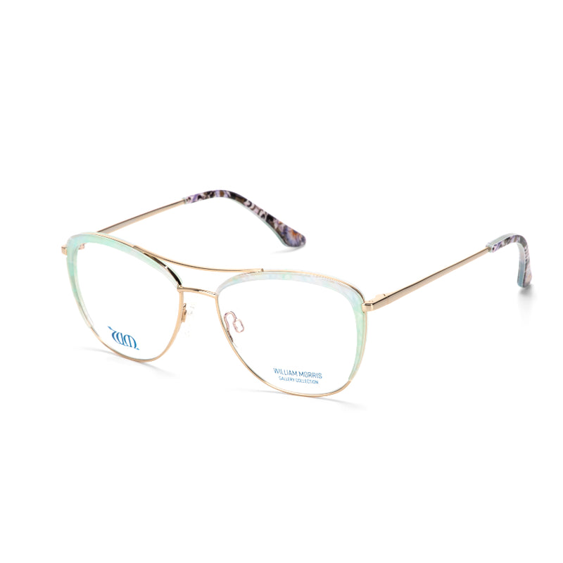 Lodden in Green from the William Morris Gallery Collection acetate range side view