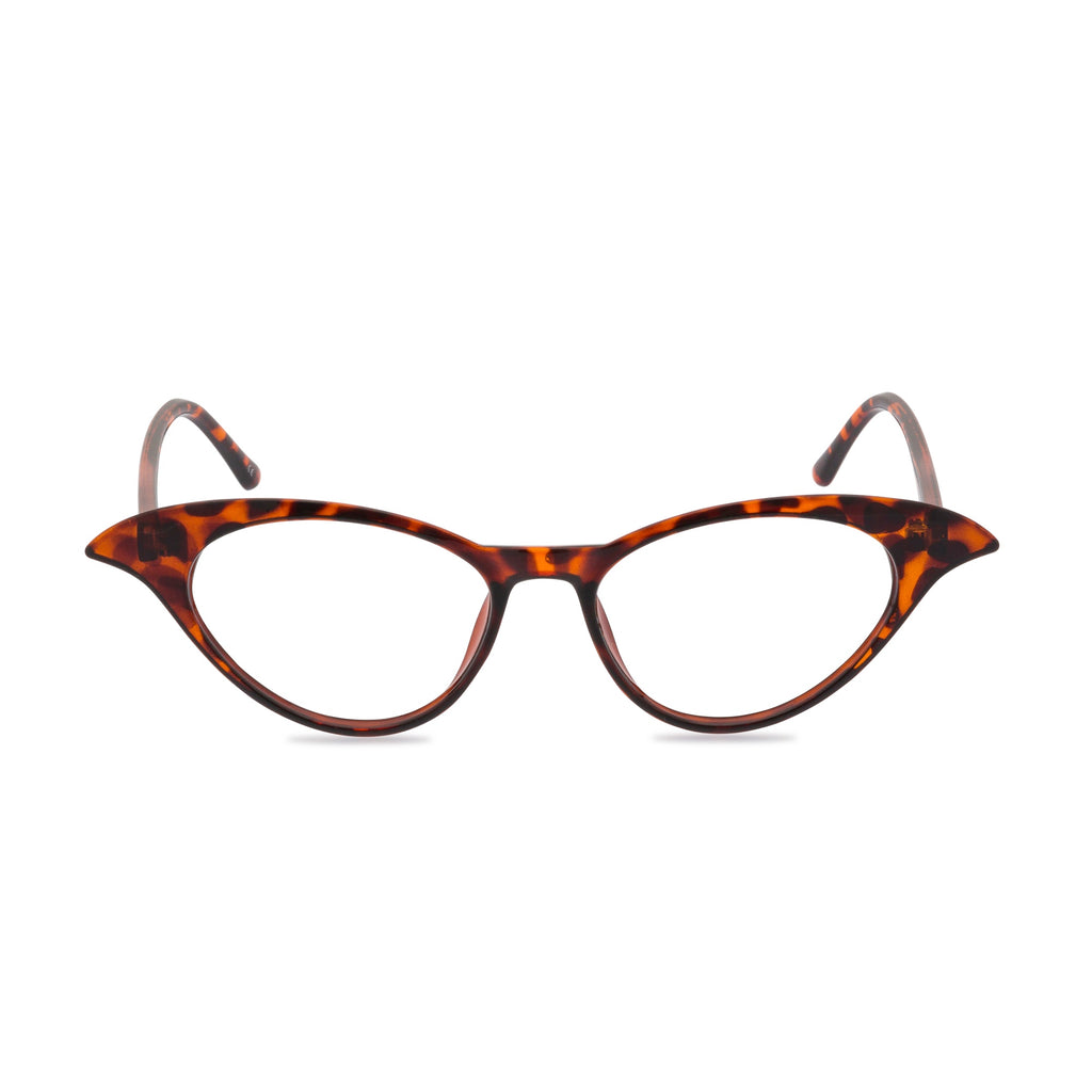 Madame B Cat Eye Glasses - Tortoiseshell