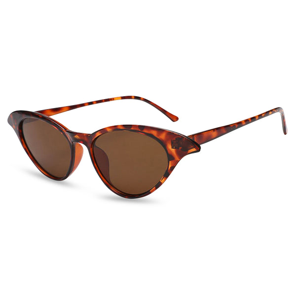 Madame B Sunglasses tortoiseshell side