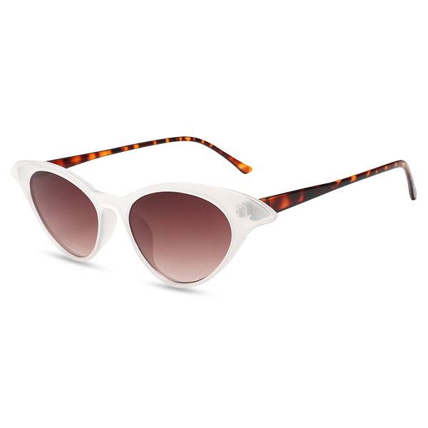 Madame B Sunglasses white tort side