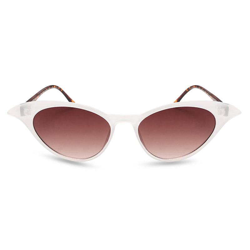 Madame B - Sunglasses White/ Tortoise