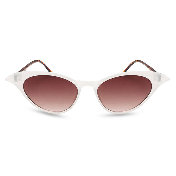 Madame B Sunglasses white tort front