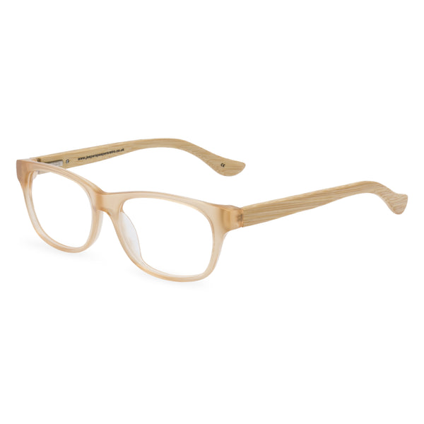 Mambo Rectangular Glasses - Blonde
