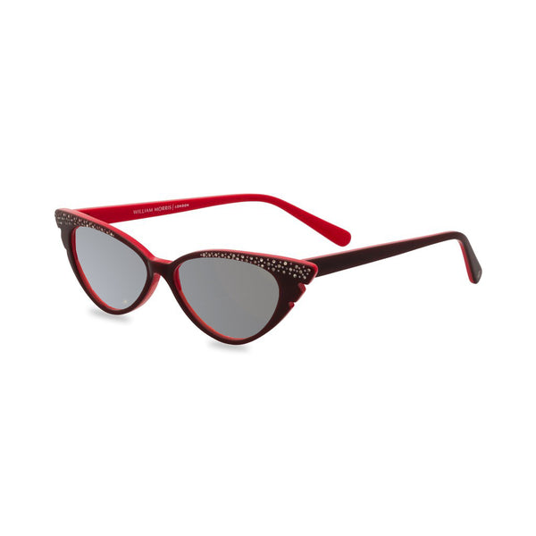 Marilyn red sunglasses side