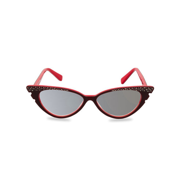 Marilyn red sunglasses front