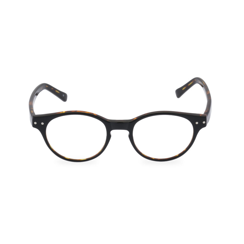 Miller Round Glasses - Black Tortoise