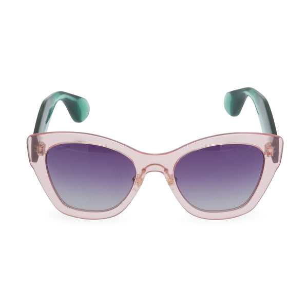 Miu Miu SMU11PS - Sunglasses Pink / Green
