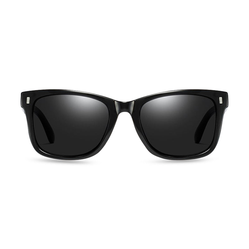 Montgomery Rectangular Sunglasses - Black