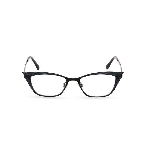 Nancy Cat Eye Glasses - Black