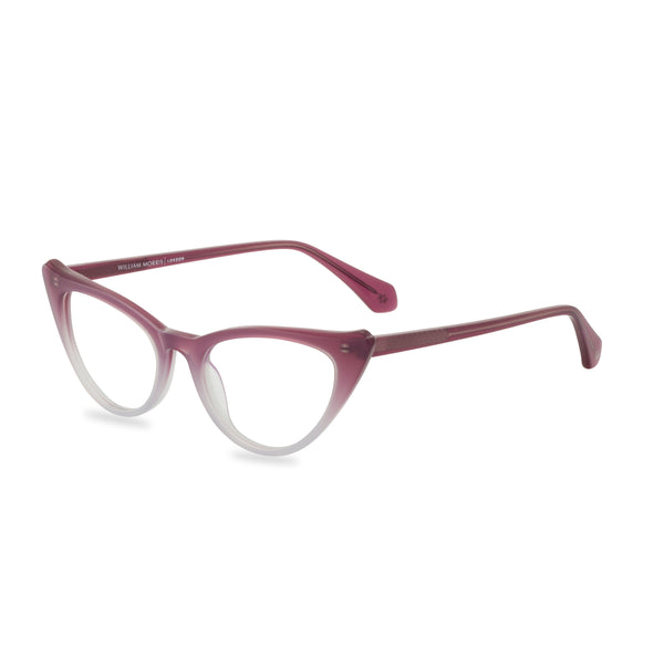Natalie Cat Eye Glasses Graduated Purple