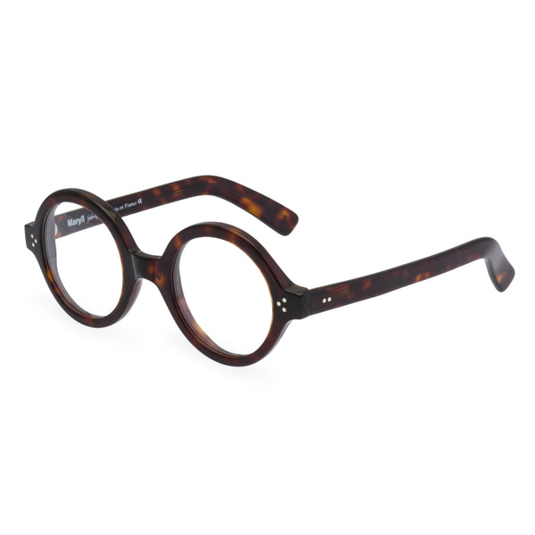O Baby Round Glasses - Dark Amber