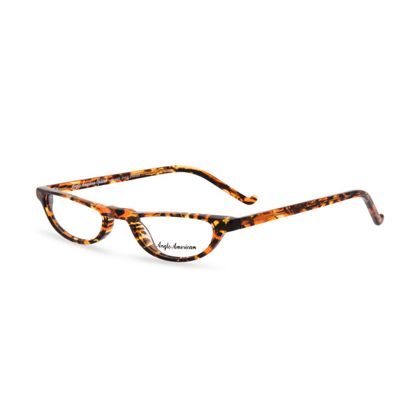 Anglo American Optical 'Oxford' - Half Moon Glasses, Tortoiseshell