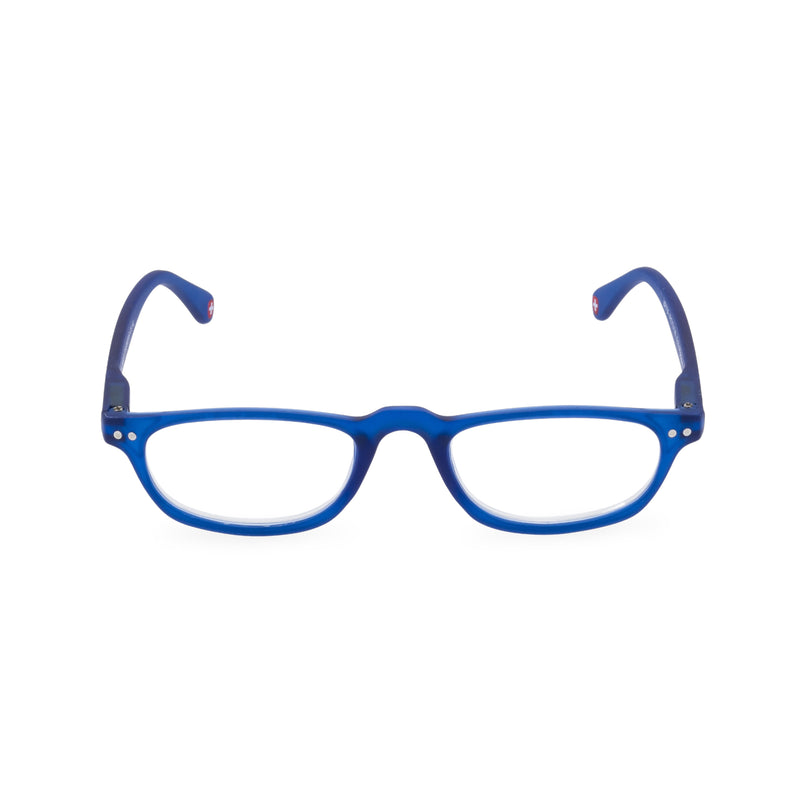 Peep Oval Glasses - Blue
