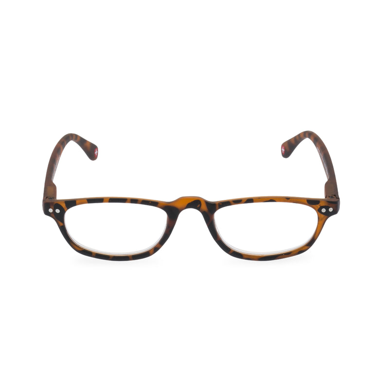 Peep Oval Glasses - Tortoise