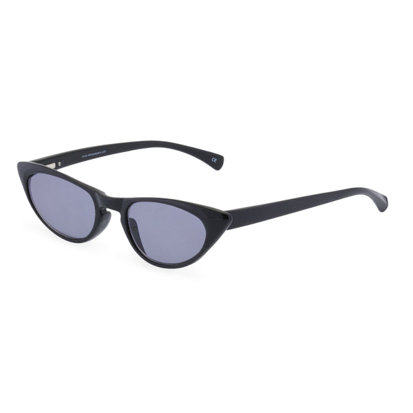 Peggy Cat Eye Sunglasses - Black Noir