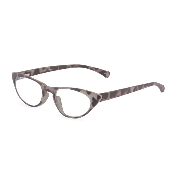 Peggy Cat Eye Glasses - Taupe Tortoiseshell