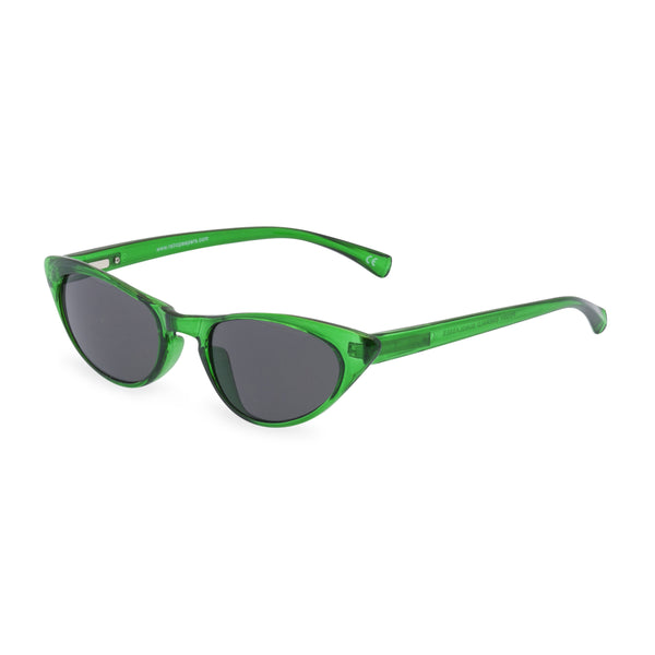 Peggy emerald sunglasses side