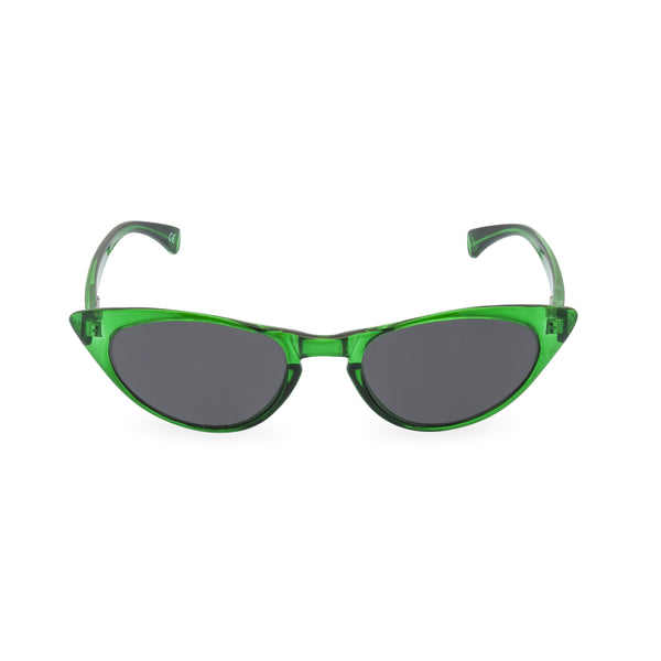Peggy emerald sunglasses front
