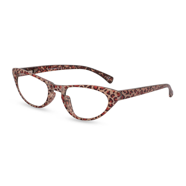 Peggy bronze leopard side