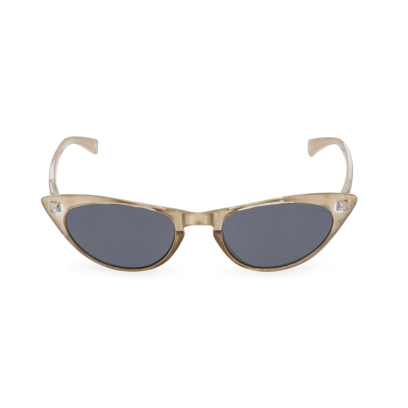 Peggy Cat Eye Sun Readers - Champagne