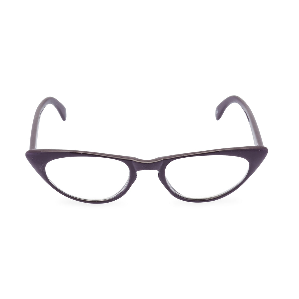 Peggy Cat Eye Glasses - Mood Purple