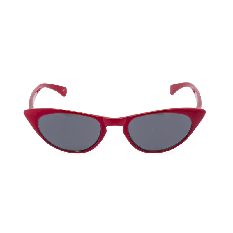 Peggy Cat Eye Sun Readers - Lipstick Red