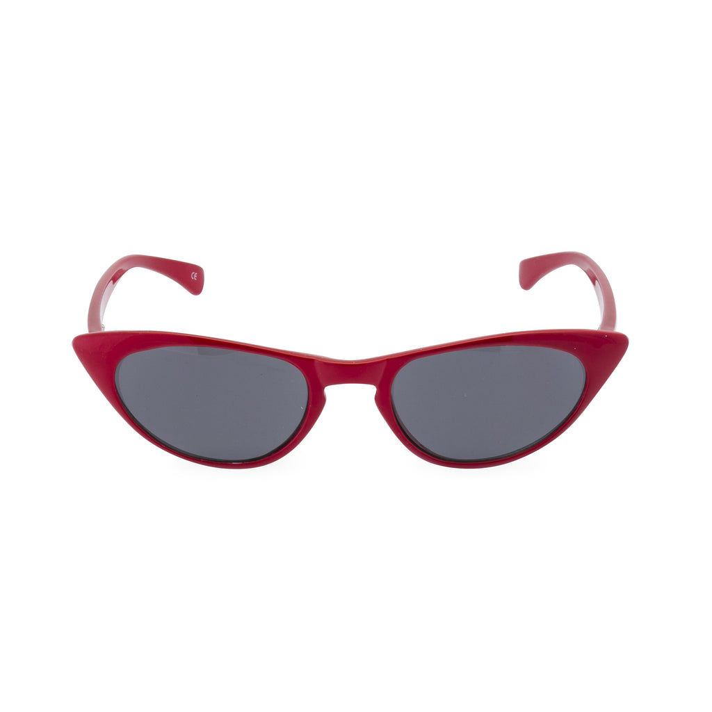 Peggy - Sunglasses Lipstick Red