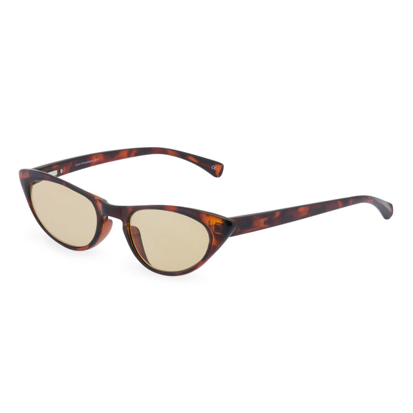 Peggy tortoiseshell sun readers side