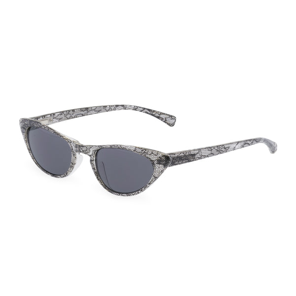 Peggy black lace  sunglasses side