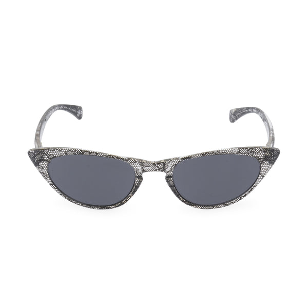 Peggy Cat Eye Sunglasses - Black Lace