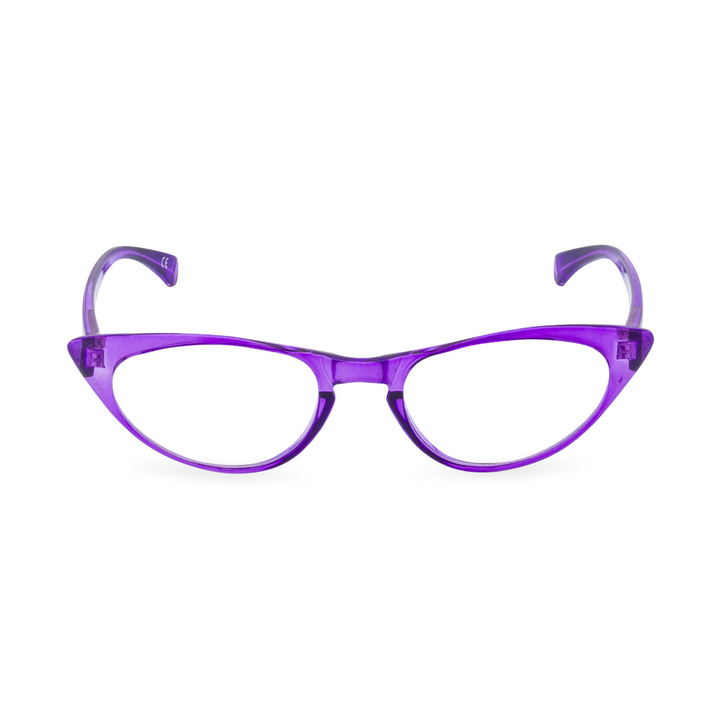 Peggy Cat Eye Glasses - Amethyst