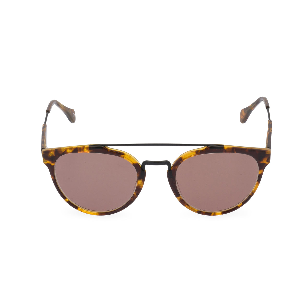 Raffles - Sunglasses Tortoiseshell / Brown Lens