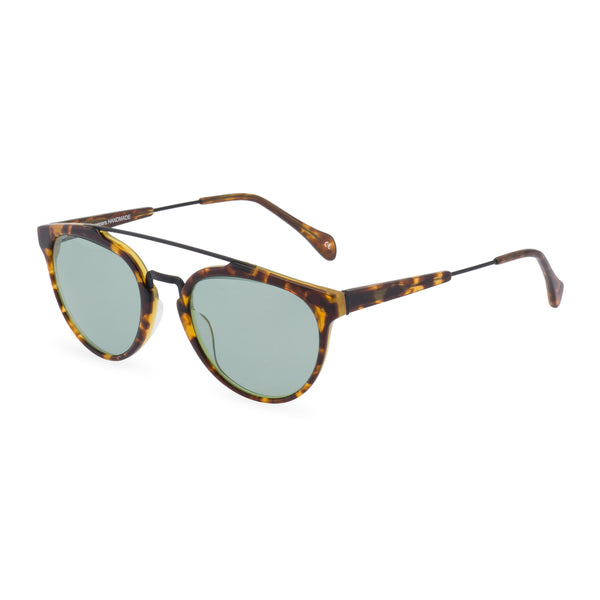 Raffles sunglasses green side