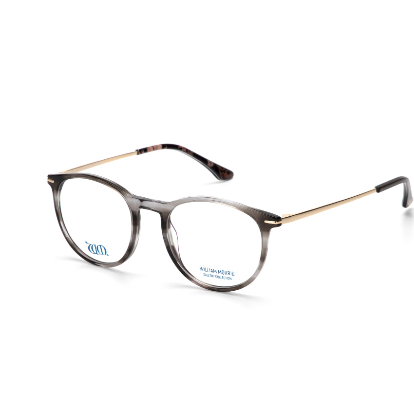 Riverwind in grey acetate from the William Morris Gallery Collection, side view