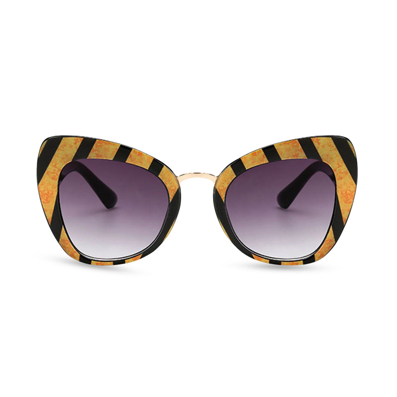 Safari Cat Eye Sunglasses - Tiger