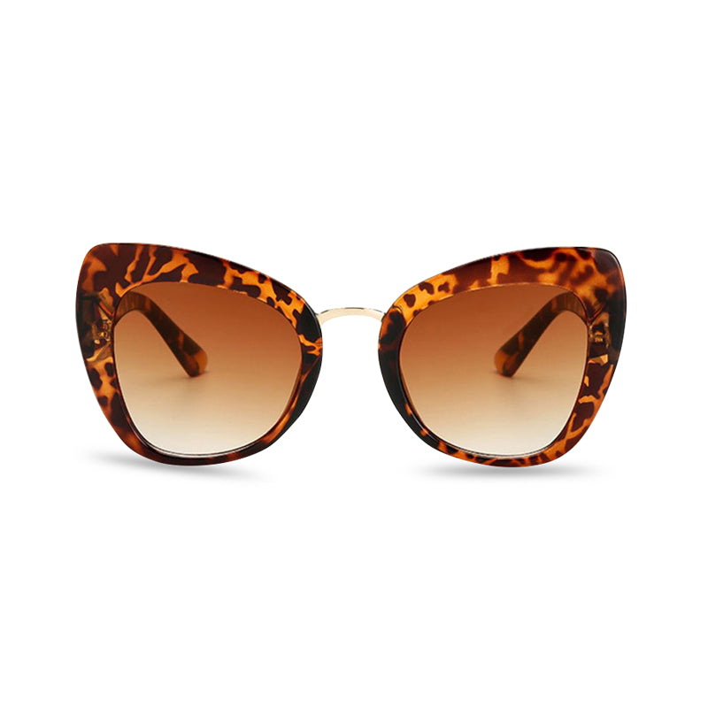 Safari Cat Eye Sunglasses - Cougar