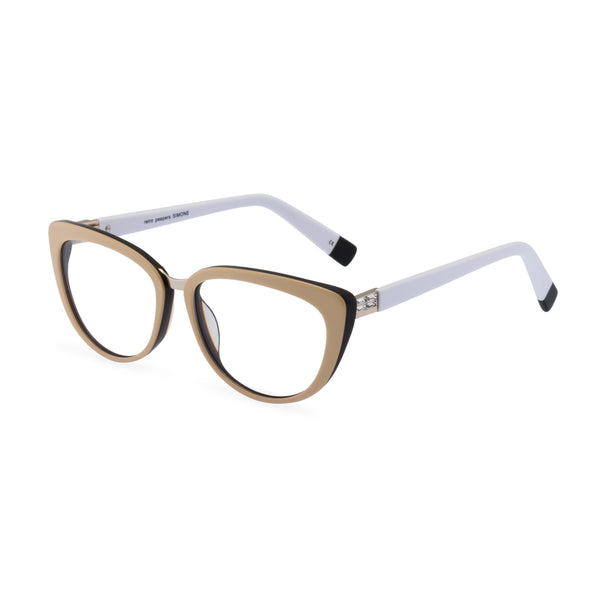 Simone Cat Eye Glasses - Taupe