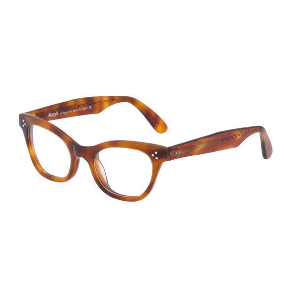 Sophisticat Cat Eye Glasses - Mid Amber