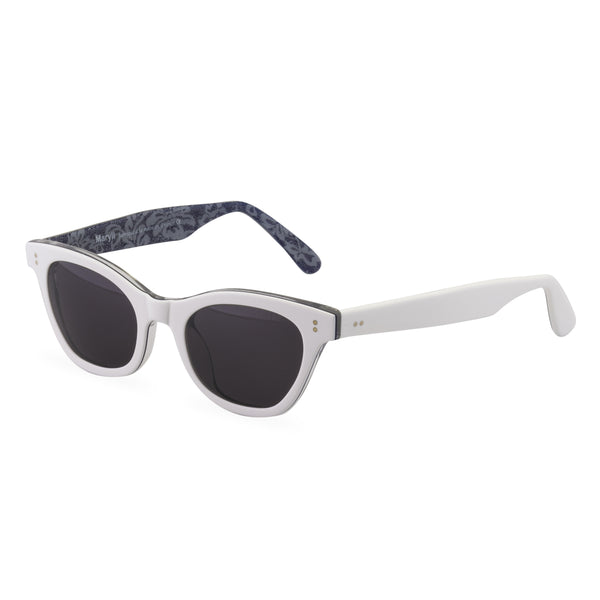 Sophisticat sunglasses white side