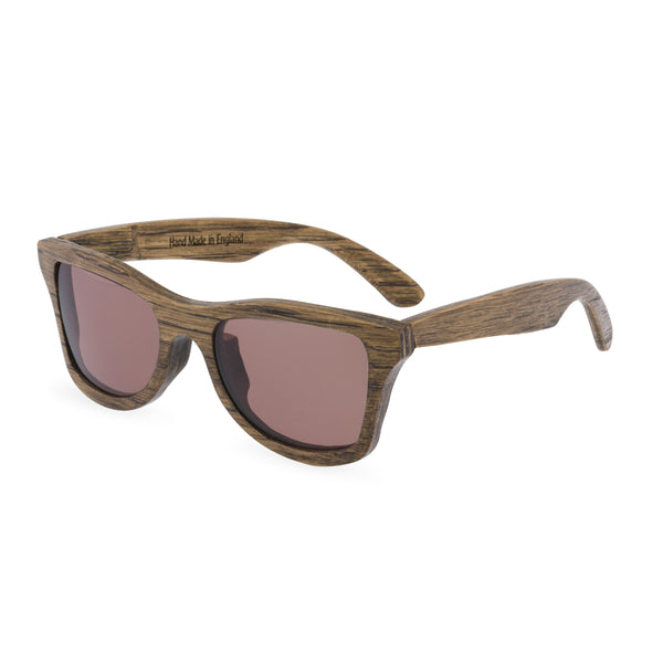Squire Square Sunglasses - Scorched Oak