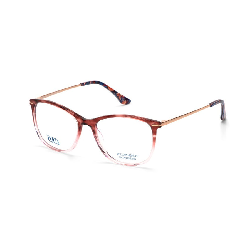 Strawberry Thief frame in acetate from the William Morris Gallery Collection range, side view